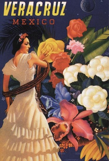 Mexico Veracruz Flowers | Sex Appeal Vintage Ads and Covers 1891-1970