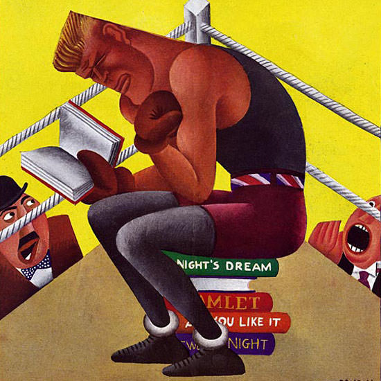 Miguel Covarrubias Life Humor Magazine 1928-07-19 Copyright crop | Best of 1920s Ad and Cover Art