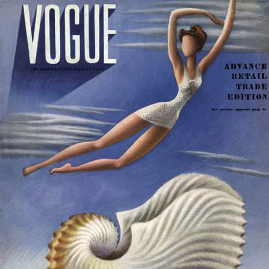 Miguel Covarrubias Magazine Cover 1937-07-01 Copyright crop | Best of 1930s Ad and Cover Art