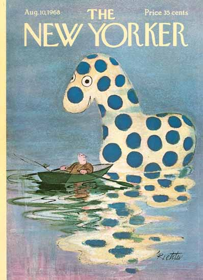 Misha Richter The New Yorker 1968_08_10 Copyright | The New Yorker Graphic Art Covers 1946-1970