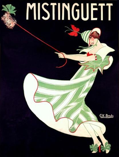 Mistinguett Paris Folies Bergere Moulin Rouge | Sex Appeal Vintage Ads and Covers 1891-1970
