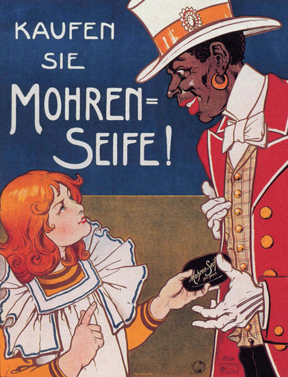 Mohren Seife Germany Deutschland Soap | Vintage Ad and Cover Art 1891-1970