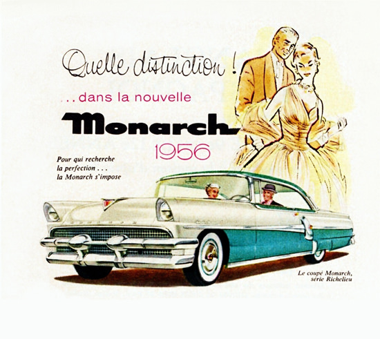 Monarch Richelieu Coupe 1956 Distinction | Vintage Cars 1891-1970