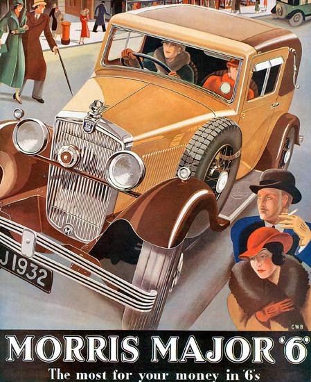 Morris Major 6 Model 1932 | Vintage Cars 1891-1970