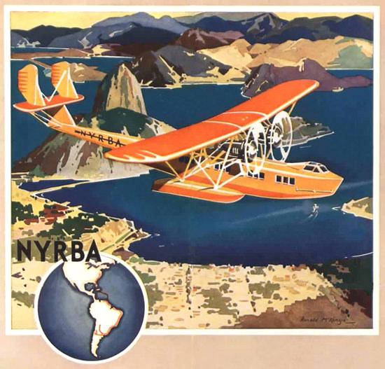 NYRBA 1930 | Vintage Travel Posters 1891-1970