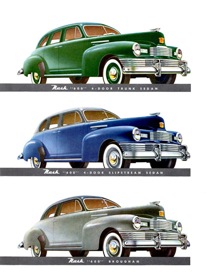 Nash 600 Models 1948 | Vintage Cars 1891-1970