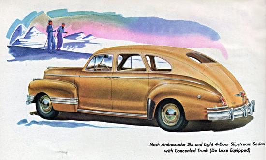 Nash Ambassador De Luxe Slipstream Sedan 1942 | Vintage Cars 1891-1970