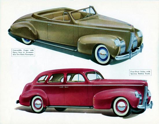 Nash Ambassador Eight Convertible N Sedan 1939 | Vintage Cars 1891-1970