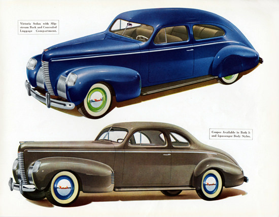 Nash Ambassador Eight Coupe Victoria 1939 | Vintage Cars 1891-1970