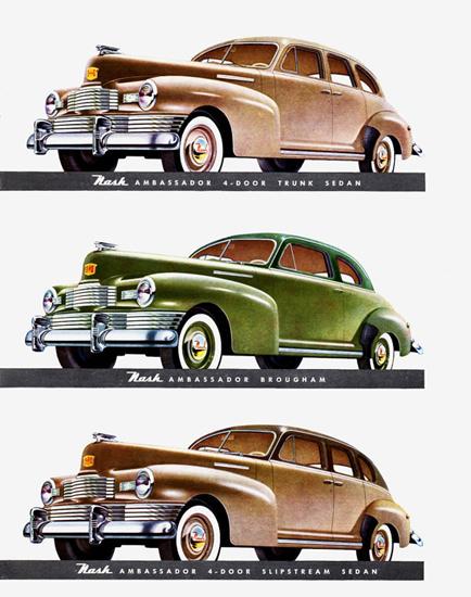 Nash Ambassador Models 1948 | Vintage Cars 1891-1970