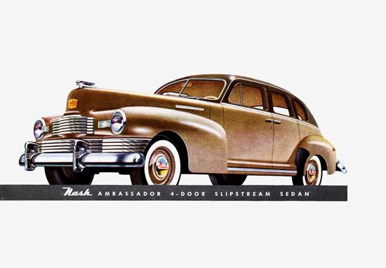 Nash Ambassador Slipstream Sedan 1948 | Vintage Cars 1891-1970