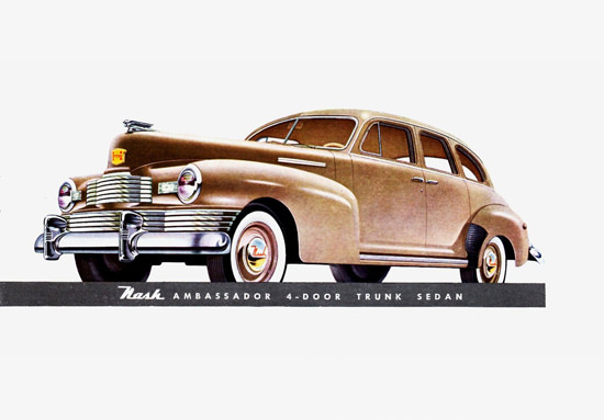 Nash Ambassador Trunk Sedan 1948 | Vintage Cars 1891-1970