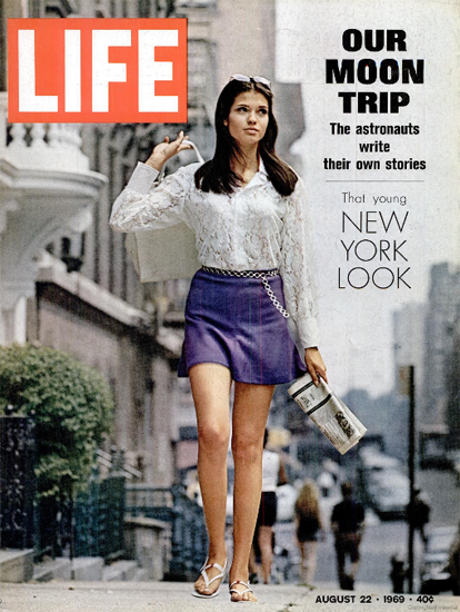 New York Look Fashion 22 Aug 1969 Copyright Life Magazine | Life Magazine Color Photo Covers 1937-1970