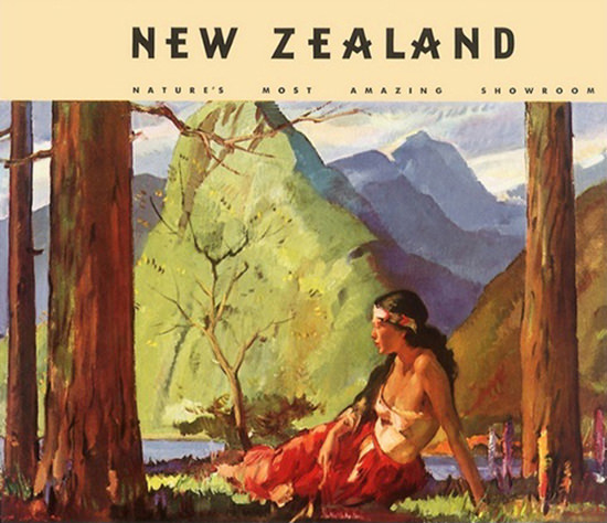 New Zealand Maori Woman Natures Showroom   Sex Appeal Vintage Ads and Covers 1891-1970