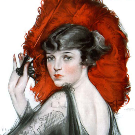 Neysa McMein Saturday Evening Post 1917_09_29 Copyright crop | Best of Vintage Cover Art 1900-1970