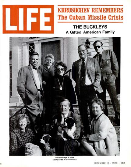 Nikita Khrushchev Cuban Crisis 18 Dec 1970 Copyright Life Magazine | Life Magazine BW Photo Covers 1936-1970