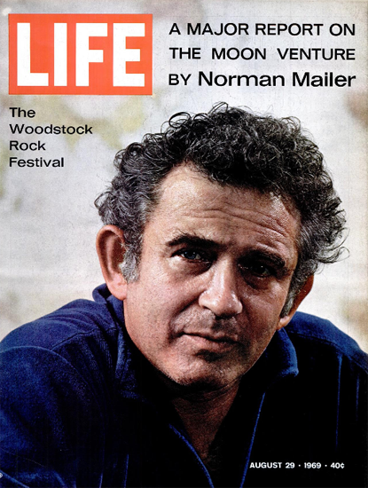 Norman Mailer Moon Report 29 Aug 1969 Copyright Life Magazine | Life Magazine Color Photo Covers 1937-1970