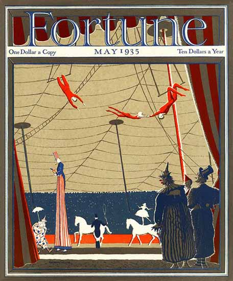 Norman Reeves Fortune Magazine May 1935 Copyright | Fortune Magazine Graphic Art Covers 1930-1959
