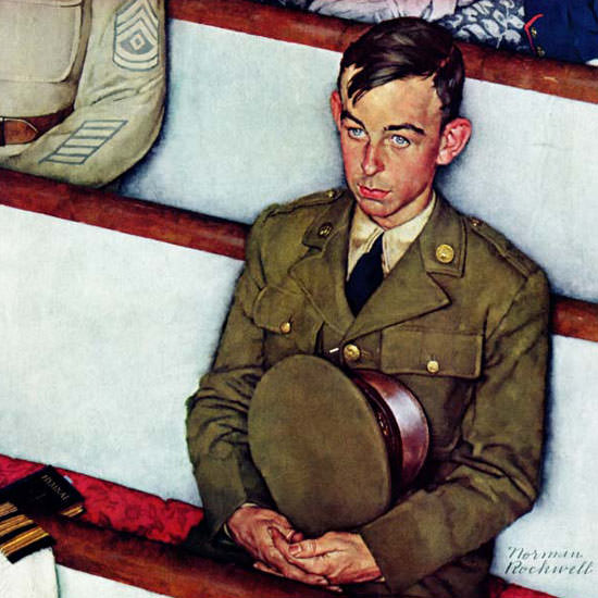 Norman Rockwell Saturday Evening Post 1942_07_25 Copyright crop | Best of Vintage Cover Art 1900-1970