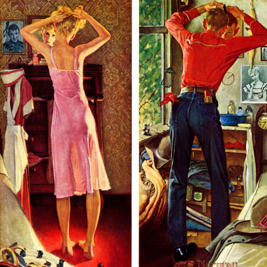 Norman Rockwell Saturday Evening Post Date 1949_09_24 Copyright crop | Best of Vintage Cover Art 1900-1970