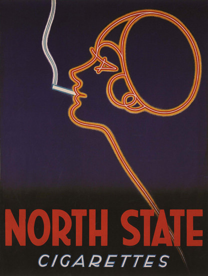 North State Cigarettes Netherlands | Vintage Ad and Cover Art 1891-1970