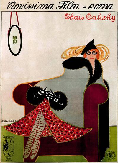 Novissima Film Roma Italy Italia | Vintage Ad and Cover Art 1891-1970