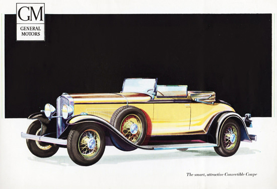 Oakland Convertible Coupe 1931 Smart | Vintage Cars 1891-1970