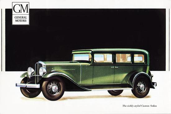 Oakland Custom Sedan 1931 Richly Styled | Vintage Cars 1891-1970
