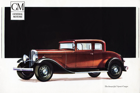 Oakland Sport Coupe 1931 The Beautiful | Vintage Cars 1891-1970