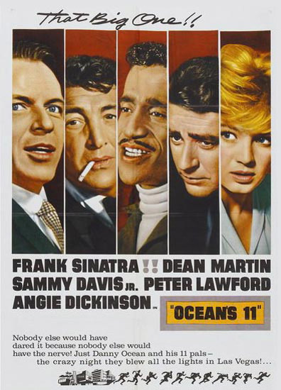 Oceans Eleven Frank Sinatra Dean Martin 1960   Sex Appeal Vintage Ads and Covers 1891-1970