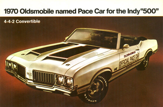 Oldsmobile 4-4-2 Indy 500 Pace Car 1970 | Vintage Cars 1891-1970