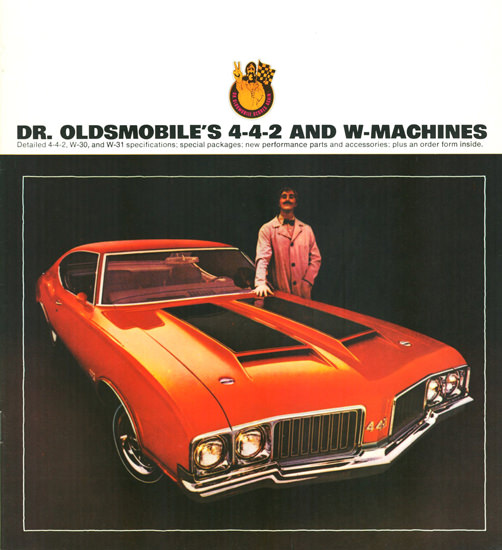 Oldsmobile 4-4-2 W-Machines 1970 | Vintage Cars 1891-1970
