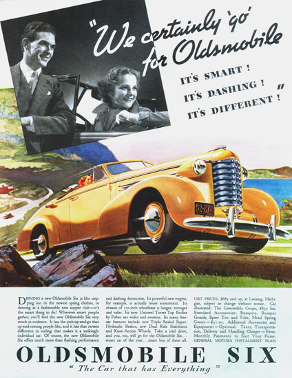 Oldsmobile 6 Convertible Coupe 1937 | Vintage Cars 1891-1970