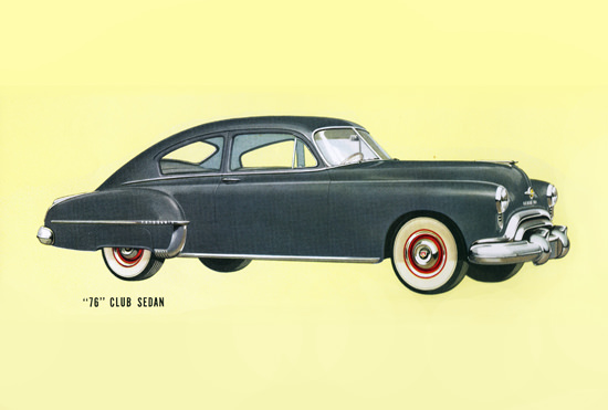Oldsmobile 76 Club Sedan 1950 | Vintage Cars 1891-1970