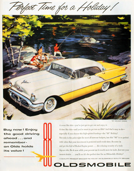 Oldsmobile 88 Holiday Sedan 1957 | Vintage Cars 1891-1970