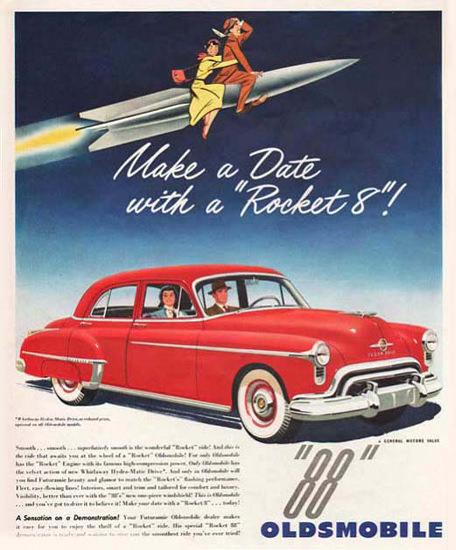Oldsmobile 88 Make a Date With A Rocket 8 | Vintage Cars 1891-1970