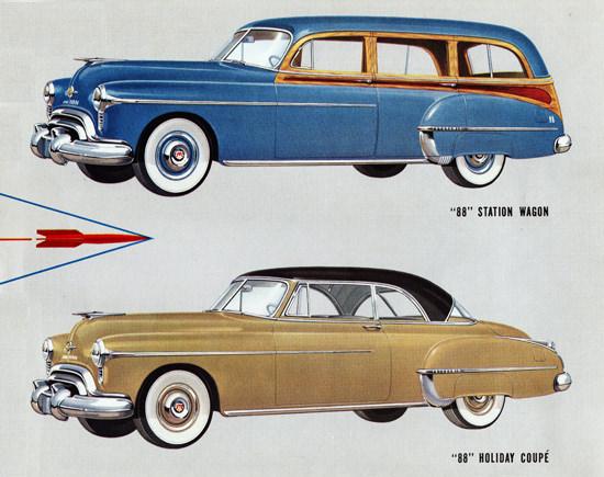 Oldsmobile 88 Station N Holiday Coupe 1950 | Vintage Cars 1891-1970