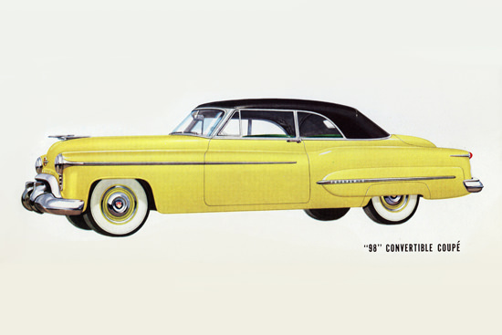 Oldsmobile 98 Convertible Coupe 1950 | Vintage Cars 1891-1970