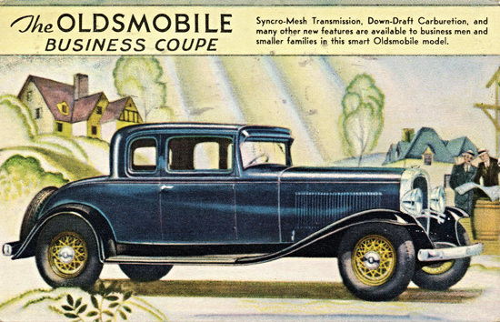 Oldsmobile Business Coupe 1931 Smart | Vintage Cars 1891-1970