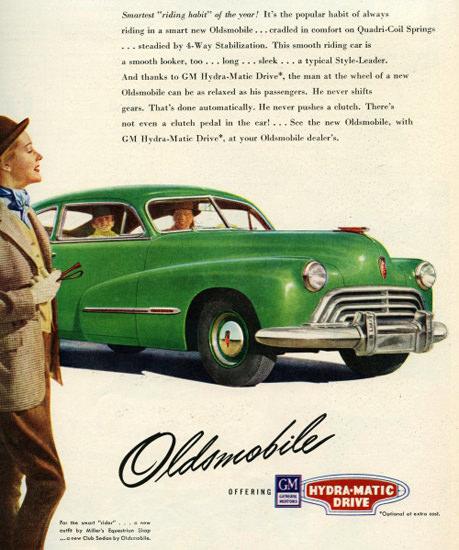 Oldsmobile Club Sedan 1947 | Vintage Cars 1891-1970