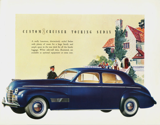 Oldsmobile Custom Cruiser 8 Touring Sedan 1940 | Vintage Cars 1891-1970