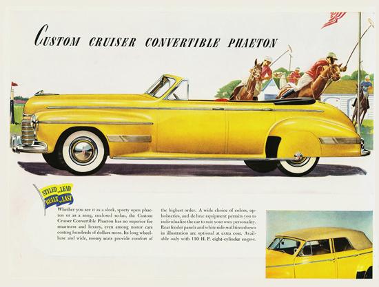 Oldsmobile Custom Cruiser Conv Phaeton 1941 | Vintage Cars 1891-1970