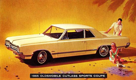 Oldsmobile Cutlass Sports Coupe 1965 Beach | Vintage Cars 1891-1970
