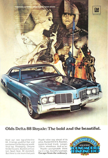 Oldsmobile Delta 1969 The Bold And The Beautiful | Vintage Cars 1891-1970