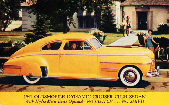 Oldsmobile Dynamic Cruiser Club Sedan 1941 | Vintage Cars 1891-1970
