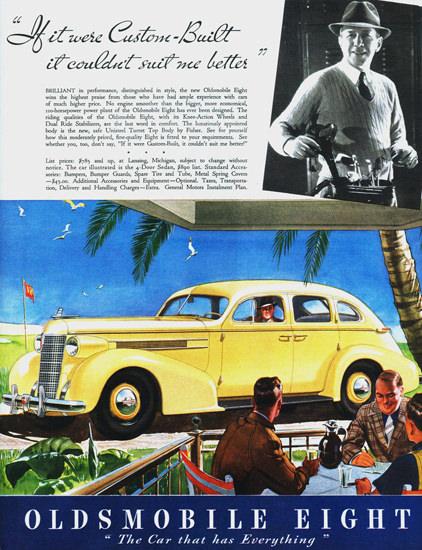 Oldsmobile Eight 4 Door Sedan 1937 | Vintage Cars 1891-1970