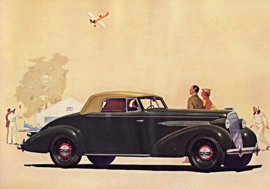 Oldsmobile Eight Convertible Coupe 1935 | Vintage Cars 1891-1970