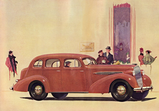Oldsmobile Eight Touring Sedan 1935 | Vintage Cars 1891-1970