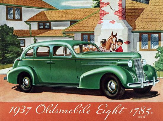 Oldsmobile Eight Touring Sedan 1937 | Vintage Cars 1891-1970