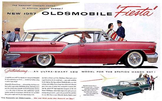 Oldsmobile Fiesta 1957 Station Wagon | Vintage Cars 1891-1970
